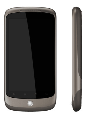 nexus fron side Googles smart phone  Nexus One: Features, Specifications, Availability  and Price