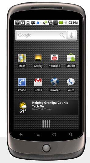 Google's smart phone- Nexus One: Features, Specifications, Availability  and Price