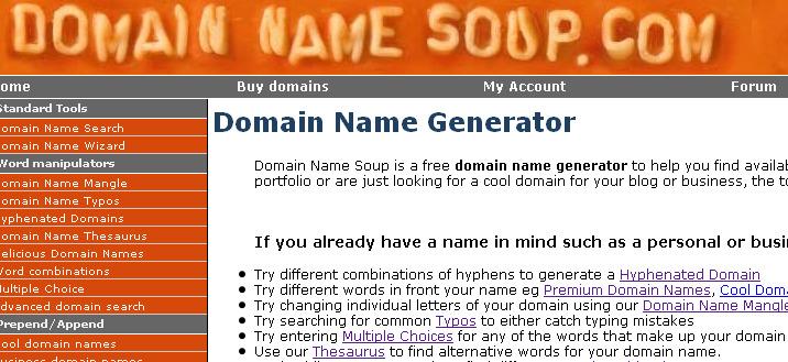 domain soup