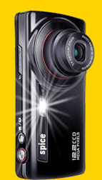 Spice S 1200  A mobile phone with digital camera or a camera with mobile phone?