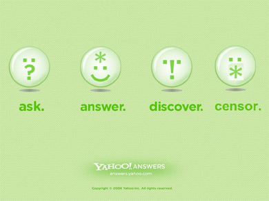 Yahoo answers a best way to promote your new blog