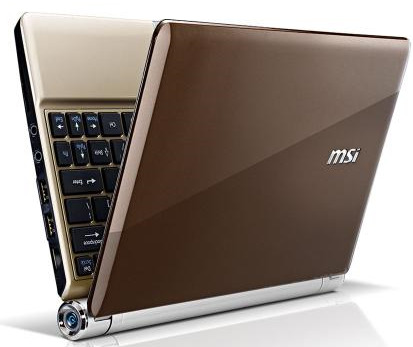 Wind U 160- The Ultra light weight thin Netbook from MSI