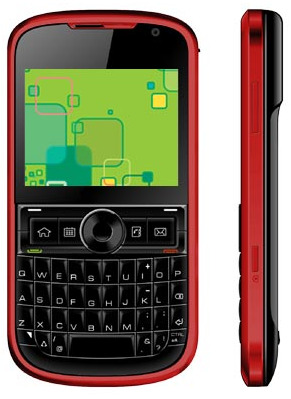 Intex  IN 6633- Dual SIM WiFi QWERTY handset for Rs 4500