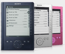 Sony PRS 300 Pocket e book reader now for 149.99$