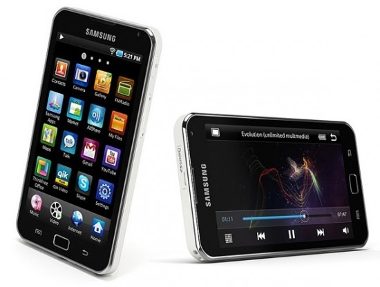 Samsung Android Based MP3 Players Galaxy 4 and 5 Finally Out in the U.S.A. Market