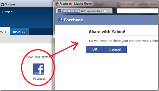 2 thumb Google Plus How to import your Facebook Contacts