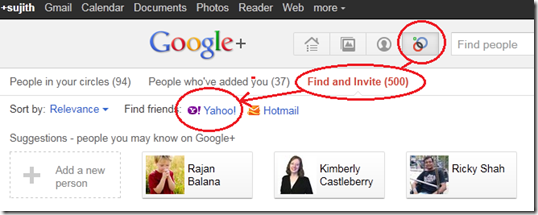 plus 1 thumb Google Plus How to import your Facebook Contacts