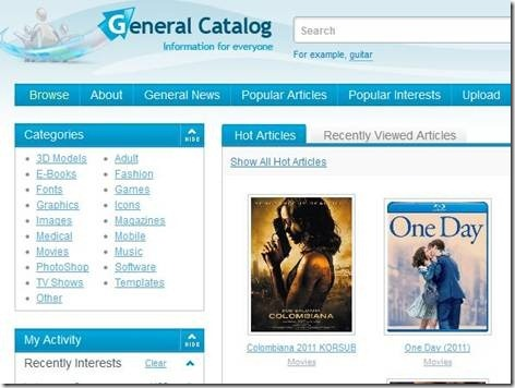 General-Files : A simple but powerful file search engine