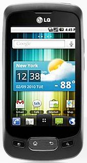 lg optimus one android1 Top Cheap Android Smartphone Under 10,000 INR