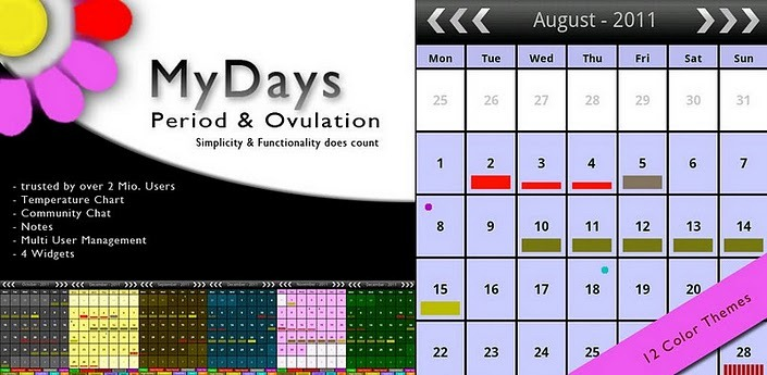 my days period ovulation android app
