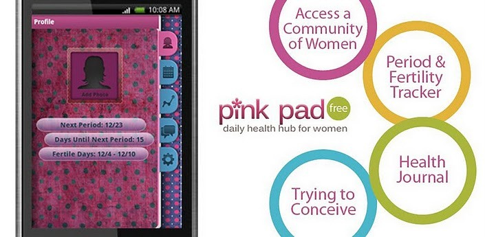 pinkpad free period tracer android app