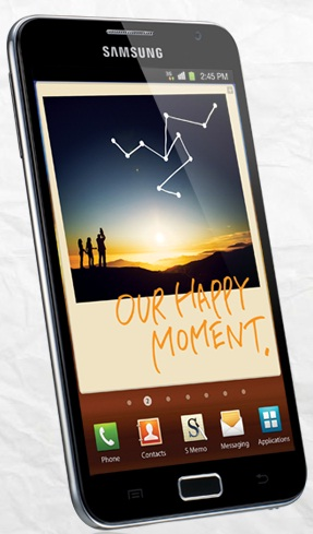 Samsung Galaxy Note GT-N7000- The Only Giant In Town