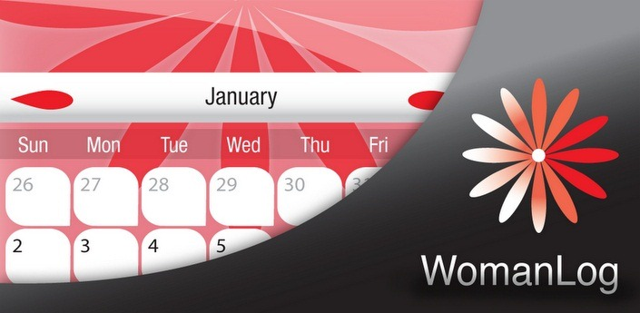 womanlog calendar android app