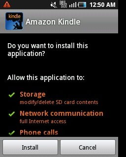 android apps accessing information