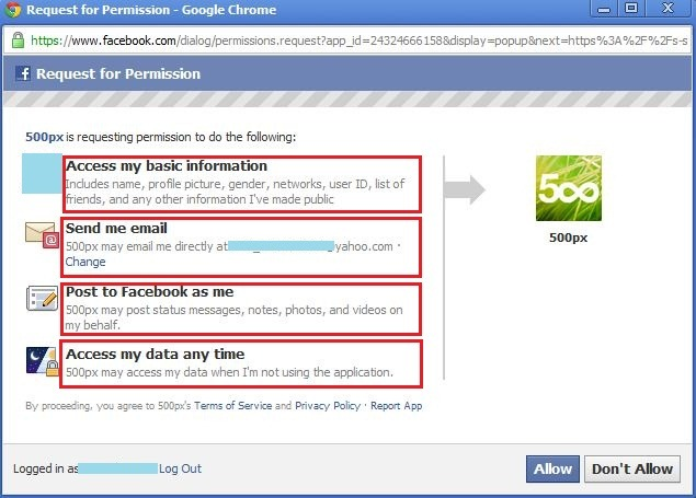 facebook apps threats
