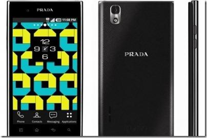 lg prada smartphone 2012
