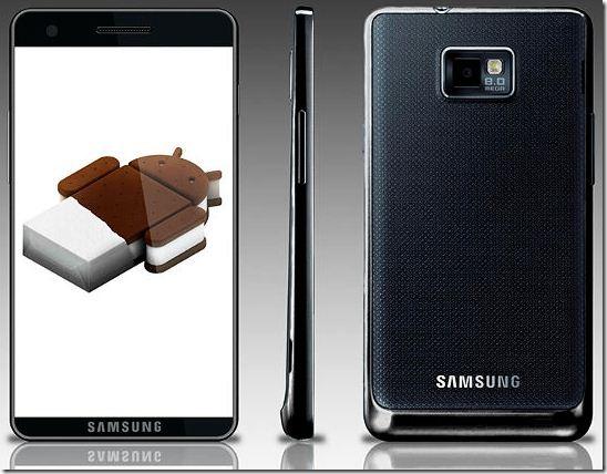 samsung galaxy s III smartphone 2012