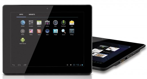 coby range of android ics tablet