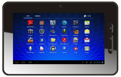 micromax funbook ics android tablet