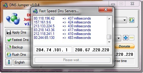 fastest dns server in india 2016