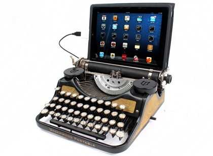 USB Typewritter- Give rebirth to your antique typewriter
