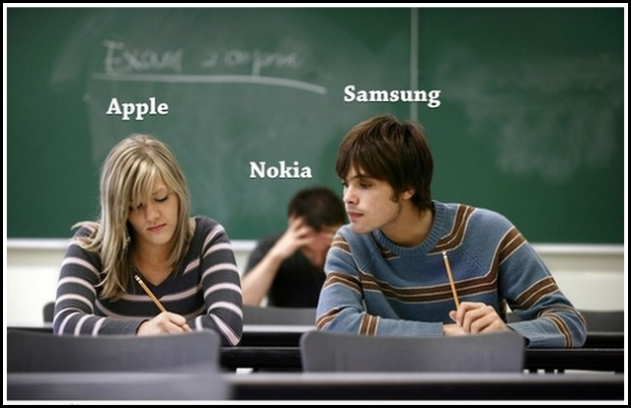 1 thumb Funny Memes and cartoons after Apple vs Samsung legal battle verdict
