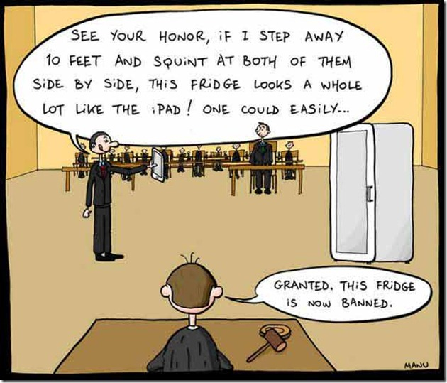 apple vs samsung thumb Funny Memes and cartoons after Apple vs Samsung legal battle verdict