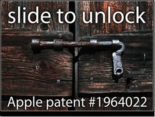 slide to unlock thumb Funny Memes and cartoons after Apple vs Samsung legal battle verdict
