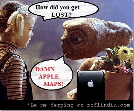 Funny Apple Meme : Apple maps the biggest mistake u2013 funny memes and trolls
