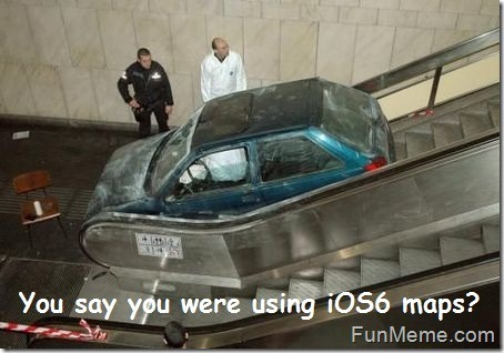 Apple Maps- The biggest mistake – Funny memes and trolls