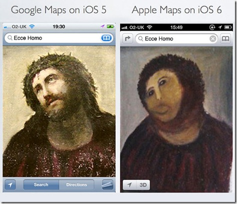 apple maps ios 6 thumb Apple Maps  The biggest mistake   Funny memes and trolls