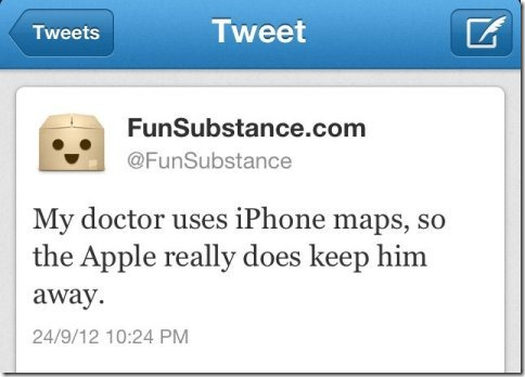 doctor use imap thumb Apple Maps  The biggest mistake   Funny memes and trolls
