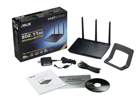 Asus RT - AC 66U with box